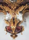 Basilica Goessweinstein, the pulpit detail Stock Photos