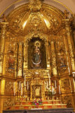 Basilica Golden Altar Santa Iglesia Collegiata Madrid Spain Stock Photos