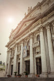 Basilica of the Good Council of Naples- Italy Stock Images