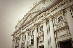 Basilica of the Good Council of Naples- Italy Stock Image