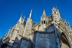 Basilica gotica del san-Urbain Immagini Stock