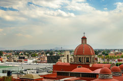 Basilica of Guadalupe Compound Stock Photography