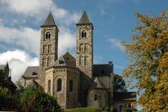 Basilica. Of H. H. Wiro, Plechelmus and Otgerus in St Odiliënberg, Netherlands Stock Photos