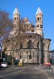 Basilica of the Holy Apostles in Cologne, Germany Royalty Free Stock Photos