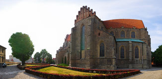 Basilica of the Holy Apostles Peter and Paul, Poland. Basilica of the Holy Apostles Peter and Paul in Strzegom, Poland Stock Image