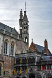 Basilica of the Holy Blood, Bruges, Belgium stock photo