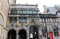 Basilica of the Holy Blood, Bruges, Belgium Royalty Free Stock Images