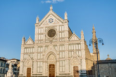 The Basilica of the Holy Cross in Florence, Italy Royalty Free Stock Photography