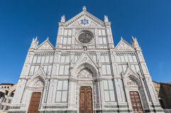 The Basilica of the Holy Cross in Florence, Italy Royalty Free Stock Photos