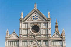 The Basilica of the Holy Cross in Florence, Italy Stock Photography