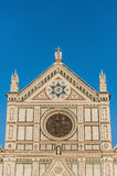 The Basilica of the Holy Cross in Florence, Italy Stock Image