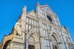 The Basilica of the Holy Cross in Florence, Italy Royalty Free Stock Image