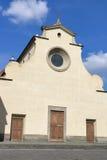 Basilica of the Holy Spirit facade in Florence Royalty Free Stock Photos