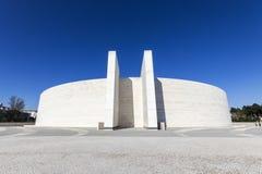 Basilica of the Holy Trinity, Fatima, Portugal stock photos