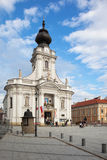 Basilica i Wadowice, Polen Royaltyfri Foto