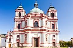 Basilica in Jablonne v Podjestedi Royalty Free Stock Image