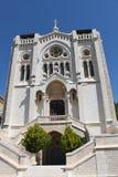 Basilica of Jesus the Adolescent, Nazareth, Israel stock photography