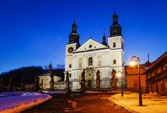 Basilica in Kalwaria Zebrzydowska  Poland. Stock Photography