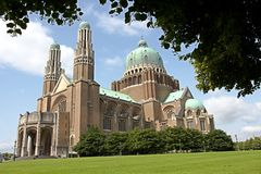 Free Basilica Koekelberg Royalty Free Stock Photography - 48499777