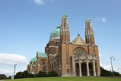 Basilica Koekelberg Royalty Free Stock Photography