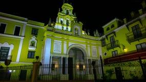 Basilica of La Macarena, Sevilla Spain. Seville Espana stock photography