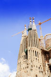 Basilica of La Sagrada Familia Royalty Free Stock Image