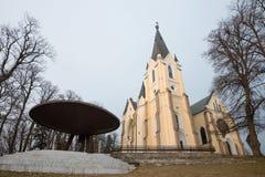 Basilica of Levoca, Slovakia Royalty Free Stock Photography
