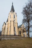 Basilica of Levoca, Slovakia Stock Image