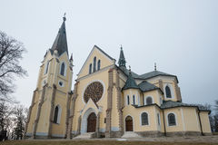 Basilica of Levoca, Slovakia Royalty Free Stock Photos