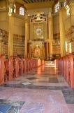 Basilica of Licheń, Poland. Basilica in Licheń, Poland – interior Royalty Free Stock Photo