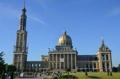 Basilica in Licheń - front view. Catholic basilica in Licheń, Poland Stock Photography