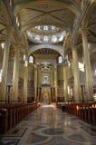 Basilica of Licheń, Poland. Interior Stock Photos
