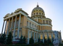 Basilica in Licheń - side view 2. Catholic basilica in Licheń, Poland Stock Photo