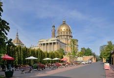 Basilica in Lichen Stary Stock Image