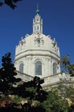 Basilica in Lisbon Stock Photo