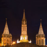 Basilica Lourdes Royalty Free Stock Image