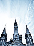 Basilica in Lourdes Stock Photos