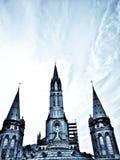 Basilica in Lourdes Stock Photos