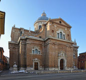 Basilica of Madonna della Ghiara Reggio Emilia Stock Image