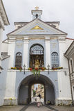 Basilica of Madonna Ostrobramska royalty free stock images