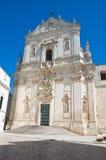 Basilica of Martina Franca. Puglia. Italy. Royalty Free Stock Photos
