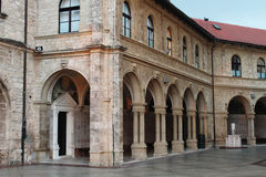 The basilica Mary of Bistrica-Marija Bistrica Royalty Free Stock Images