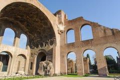 Basilica of Maxentius Royalty Free Stock Photography
