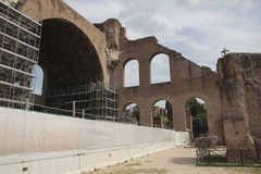 Basilica of Maxentius Stock Photos