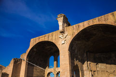 Basilica of Maxentius Royalty Free Stock Images