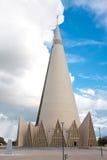 Basilica Menor de Nossa Senhora da Glóриа. Maringa, Brazil stock photo