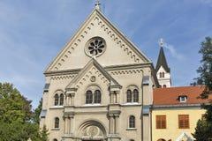 Basilica Minor in Keszthely, Hungary. Stock Photo