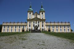 Basilica Minor in Olomouc Royalty Free Stock Photos