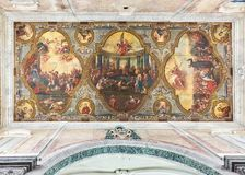 Basilica Minore Concattedrale di Santa Maria Assunta. Ostuni, Apulia, Italy. Royalty Free Stock Images
