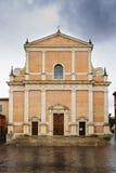 Basilica Misericordia Fabriano Stock Image